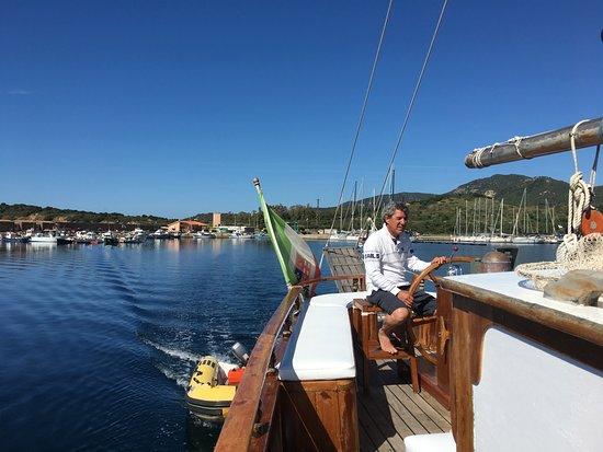 Teulada, Italia: Unser Skipper Roberto