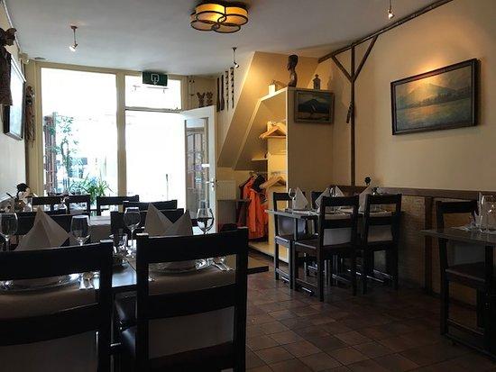 Selamat Makan Indonesisch Restaurant: Een deel van het interieur van Selamat Makan in Utrecht
