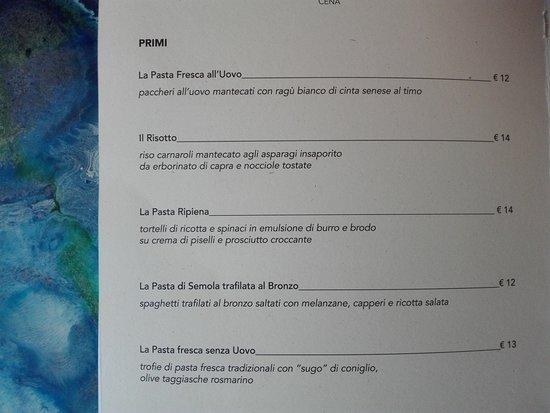 Colore & Sapori: Primi Piatti