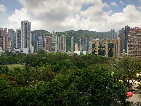 The Park Lane Hong Kong, a Pullman Hotel: Park view 9th floor