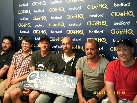 Clue Hq Bedford Ltd Looks Like You Had A Fantastic Stag Do