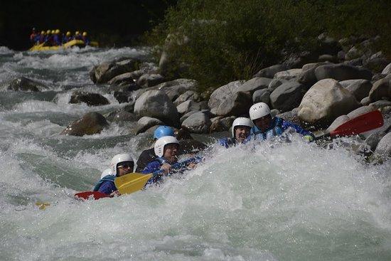 Balmuccia, Italy: Rafting 2 - Guida Jorge