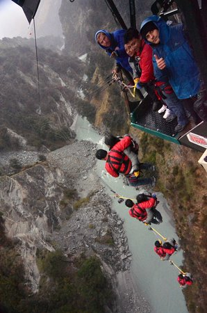 Shotover Canyon Swing & Canyon Fox: Ohh...scary at first but ecstatic at last !!