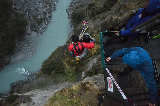 Shotover Canyon Swing & Canyon Fox: Jumped !!