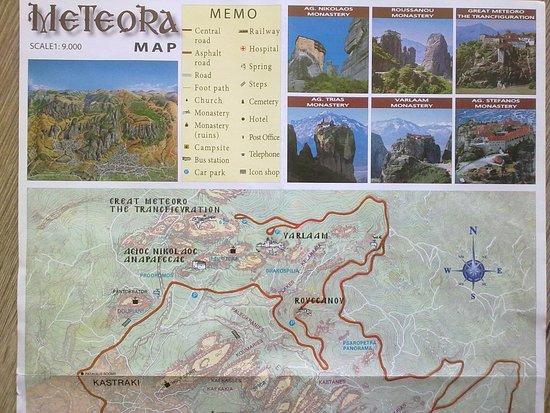 เมทิโอร่า: mapka