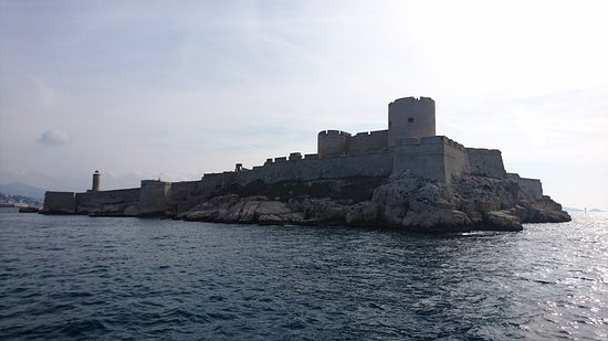 Château d'If: Замок Иф с моря