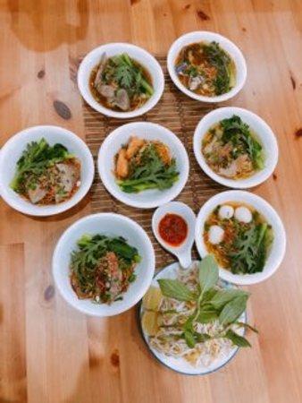 Cabramatta, Australia: our Signature Dish 7 taste 7 style noodles (Mi 7 To) $19.20