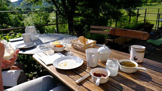 Chateauneuf-Miravail, ฝรั่งเศส: Nach dem Frühstück