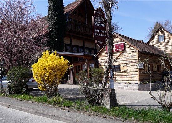 Gottmadingen, Niemcy: Auberge Harlekin-Alte Schreinerei, Restaurant mit marktfrischer Küche