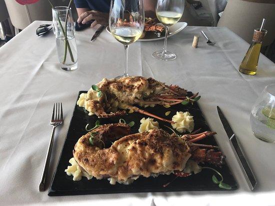 Restaurante Mistura Contorno : Lagosta gratinada
