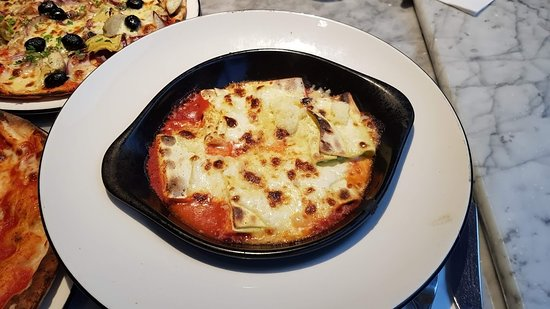 Cheese And Spinanch Cannelloni Picture Of Pizza Express