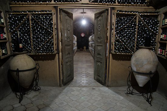 "Armavir Province, Armenia:  one of the cellars of ""MAP"" Company"
