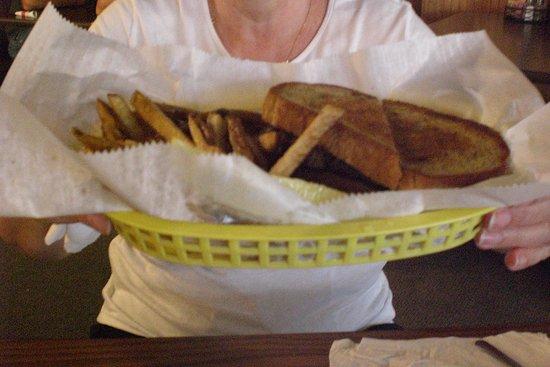 Shenandoah, เวอร์จิเนีย: grilled cheese
