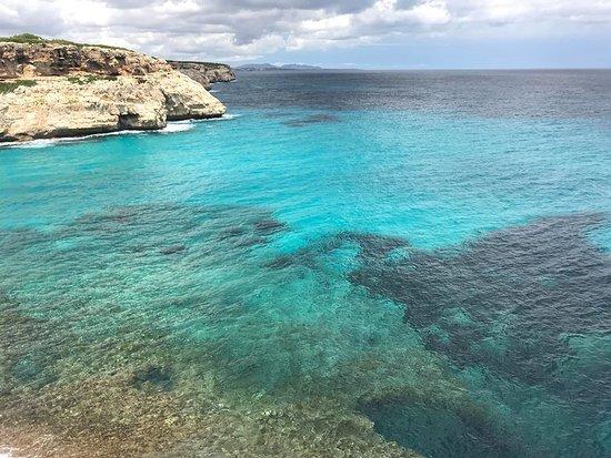 Sol Cala Antena: Part of the coastal walk