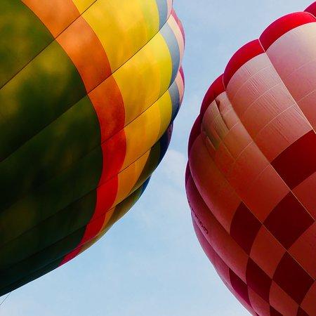 Hot air balloon rides in the Czech Republic Φωτογραφία