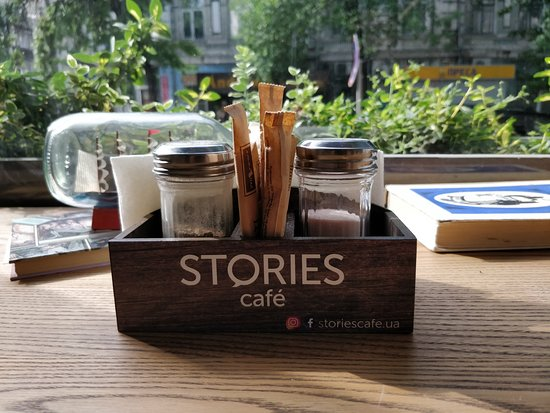 Stories Cafe : Nice cozy place