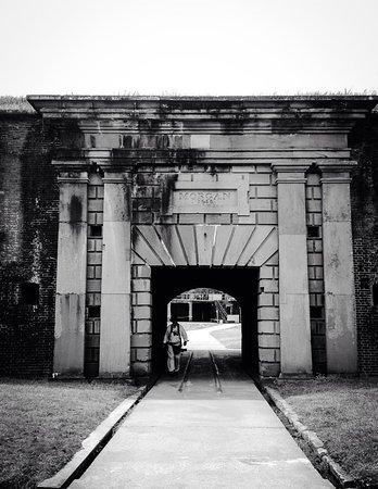 Fort Morgan, AL: Entrance