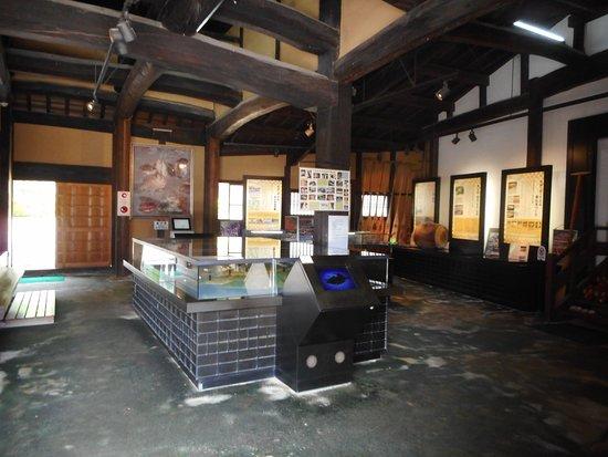 Osakikamijima-cho, Japan: 中の様子