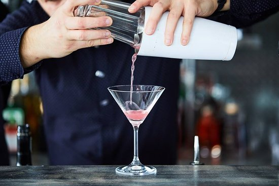 Cocktail made by Proffessional Barmen