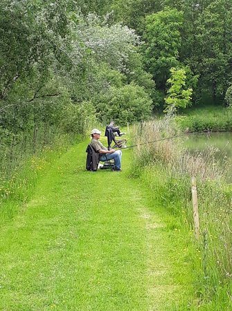 Ashwater, UK: Blagdon Farm pegs