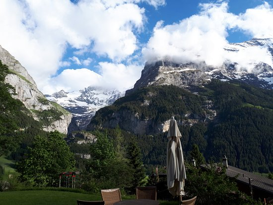 Sunstar Alpine Hotel Grindelwald: View from the terrace