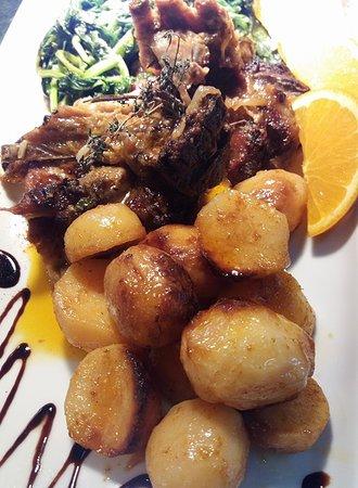 Santa Comba Dao, Portugal: Prato de carne