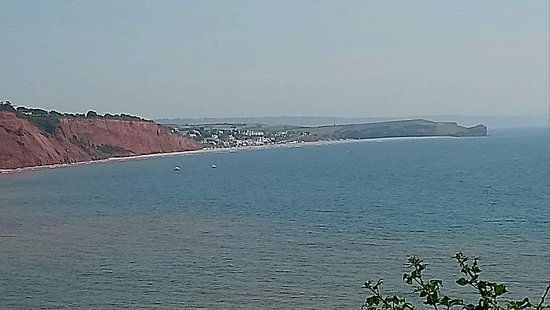 Devon Cliffs Holiday Park - Haven: View, 1 minute walk from our caravan
