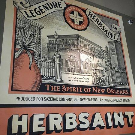 Herbsaint: Poster inside