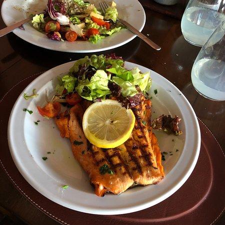 Restaurant Estilo Campo: Tem ainda opções pra quem quer comer mais saudável.