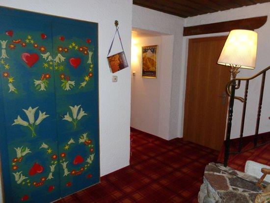 Klais, Deutschland: на этаже, очень уютный отель