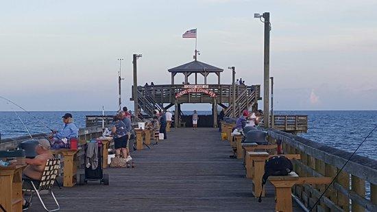 Cherry Grove Beach Observation Deck On Pier