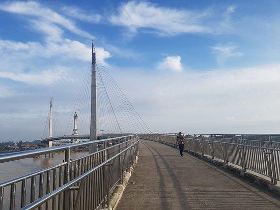 Gentala Arasy Pedestrian Bridge