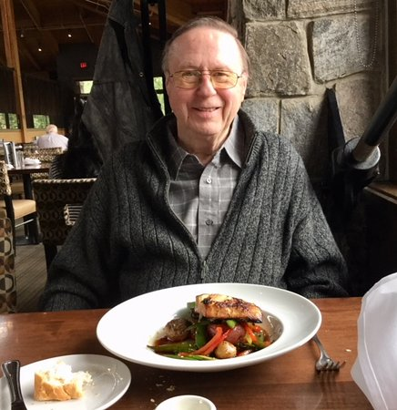 The Boathouse Restaurant: My husband ordered the Miso Glazed Sablefish