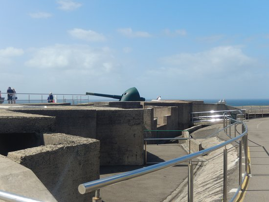 Fort Scratchley: Guns
