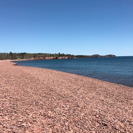Two Harbors, MN: Iona's Beach lakeshore