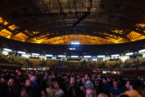 Altice Arena: Before the show started
