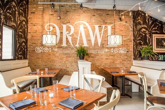 Dining Room Booths - Picture of Drawl, Chicago - TripAdvisor