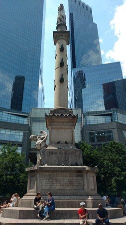 Columbus Circle: Columbus Monument