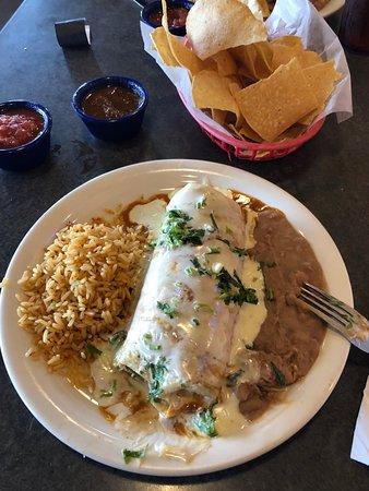Mexicali Border Cafe: Wet Burrito