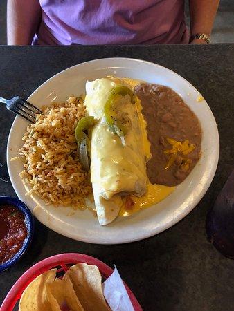 Mexicali Border Cafe: Stuffed Burrito