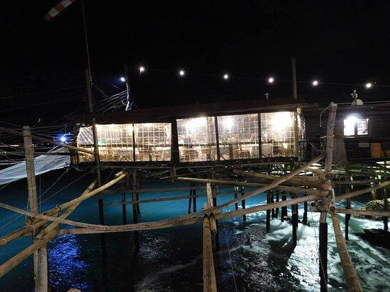 Trabocco Punta Cavalluccio : night view