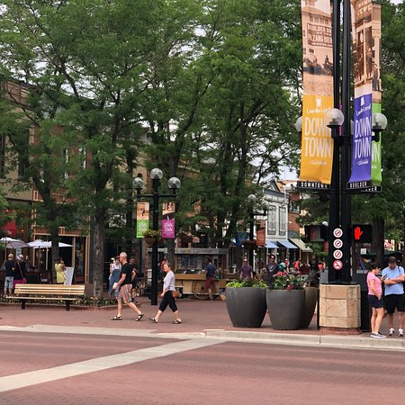 Pearl Street Mall: One of the play areas