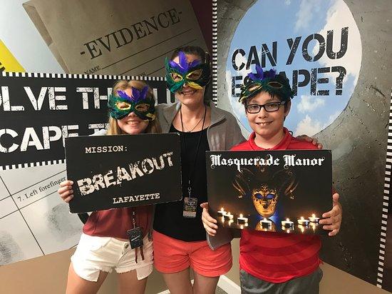 Mission: Breakout Lafayette