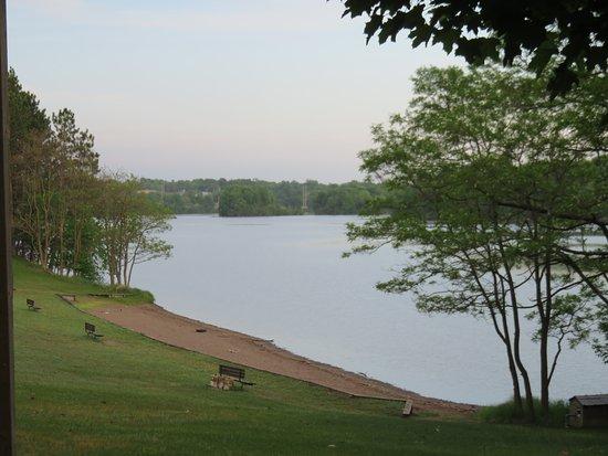 Cornell, WI: Beach and picnic area