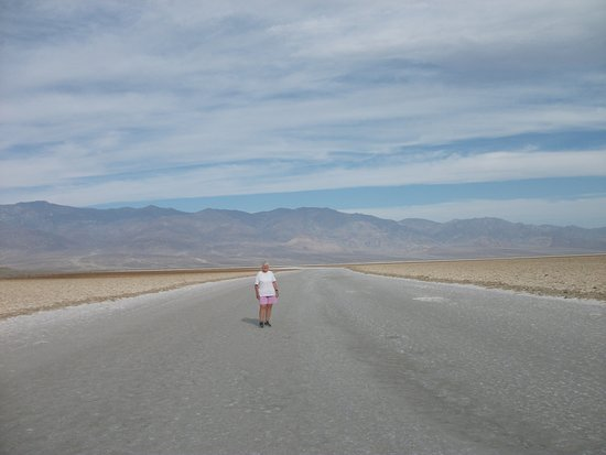 from the base of Badwater