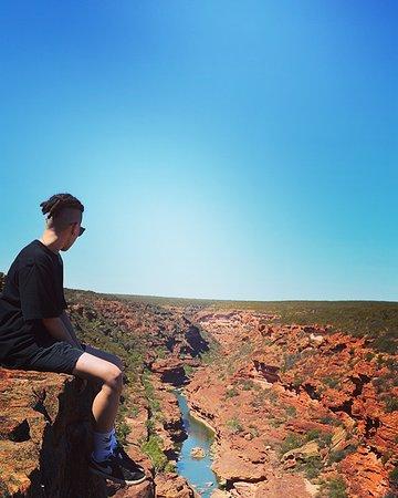 Kalbarri National Park, Australia: amazing view at Z-bend river trail