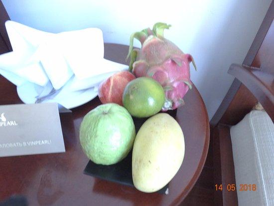 Vinpearl Resort Nha Trang : презент от отеля в день заезда