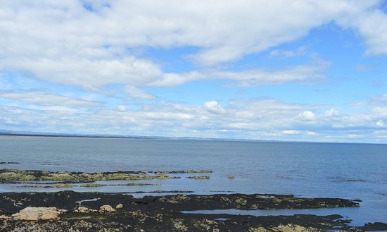 St Andrews Castle: North Sea view.