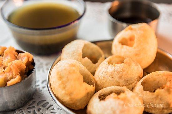 Chandini Chowk: Pani Puri - Indian Chaat