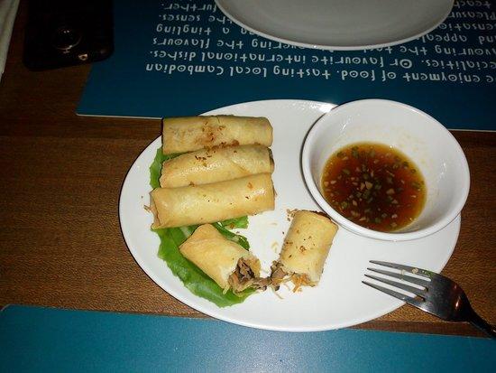 Haven: Fried spring rolls